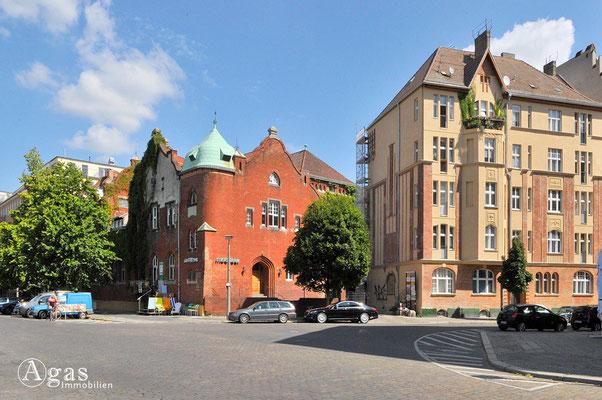 Prenzlauer Berg - Historische Gebäude an der Cantian- Ecke Milastraße