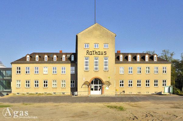Hohen Neuendorf - Rathaus (Historisches Gebäude, vor der Sanierung)