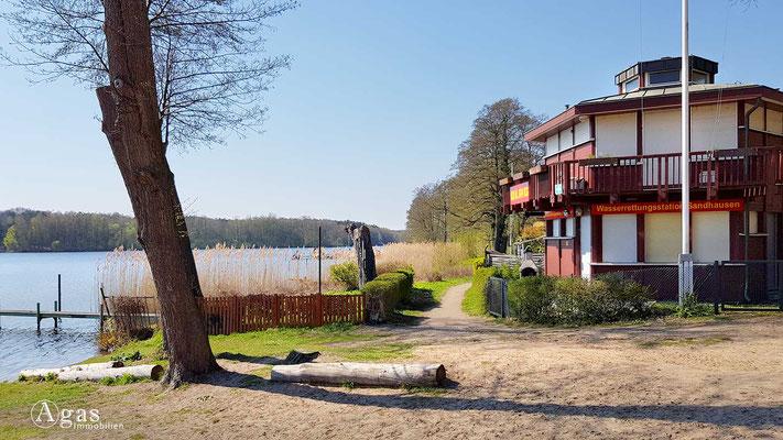 Immobilienmakler Konradshöhe - Wasserrettungsstation Sandhausen