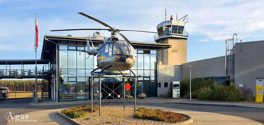 Immobilienmakler Trebbin - Flugplatz Schönhagen EDAZ