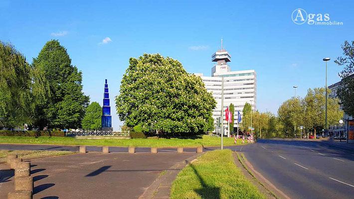 Berlin-Westend - Theodor-Heuss-Platz