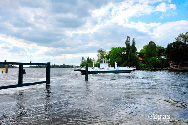 Berlin-Wannsee - Havel, Fähre zur Pfaueninsel