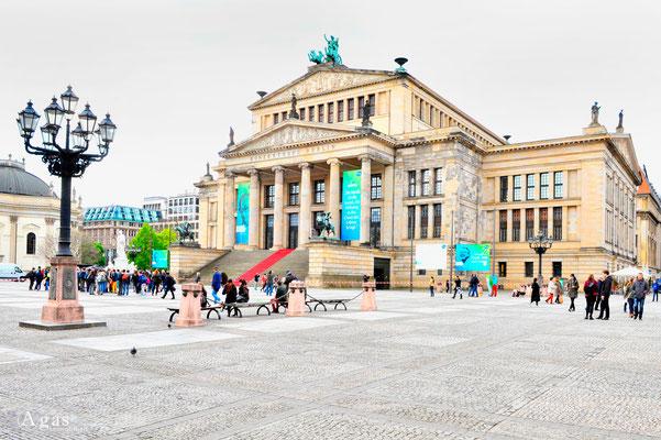 Berlin-Mitte, Konzerthaus Berlin auf dem Gendarmenmarkt
