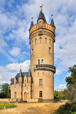 Potsdam-Babelsberg -  Der Flatowturm im Park