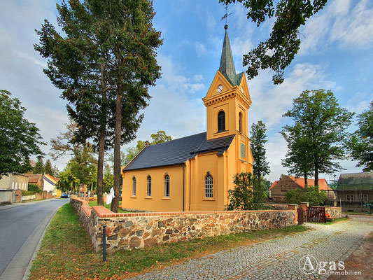 Immobilienmakler Rangsdorf - Dorfkirche Rangsdorf