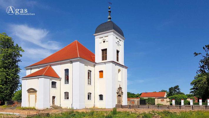 Altlandsberg - Schlosskirche an der Berliner Straße
