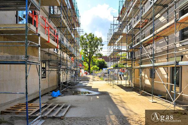 Villen im Prinzenviertel - Berlin-Lichtenberg - Neubaustelle an der Ehrlichstraße