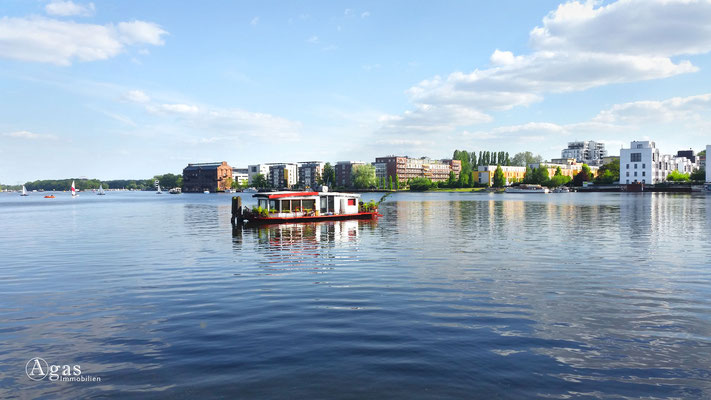 Berlin-Stralau Makler - Neubauprojekt an der Spree (12), Hausboot