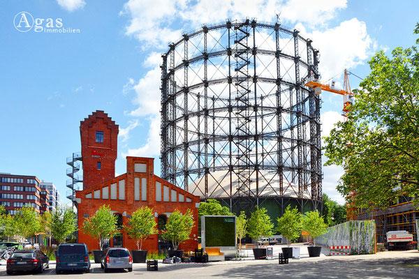 Gasometer Schöneberg auf dem EUREF-Campus im Stadtquartier Rote Insel (3)