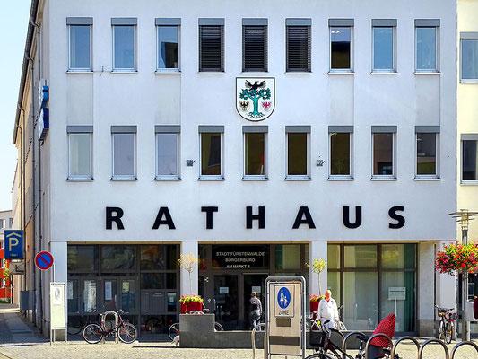 Immobilienmakler Fürstenwalde - Rathaus