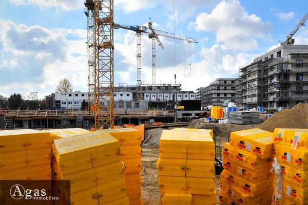 Pepitahöfe Spandau - Baustellenimpression an der Goltz- Ecke Mertensstraße