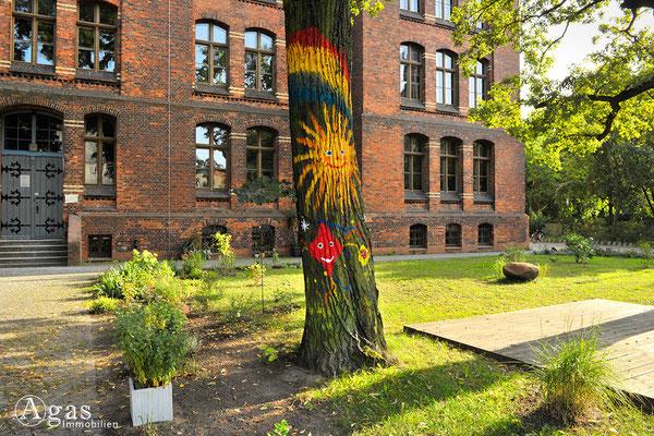Berlin-Rummelsburg - Schule an der Victoriastadt, Schulgarten
