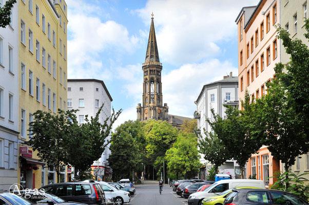 Prenzlauer Berg - Ev. Zionskirche von der Zionskirchstraße