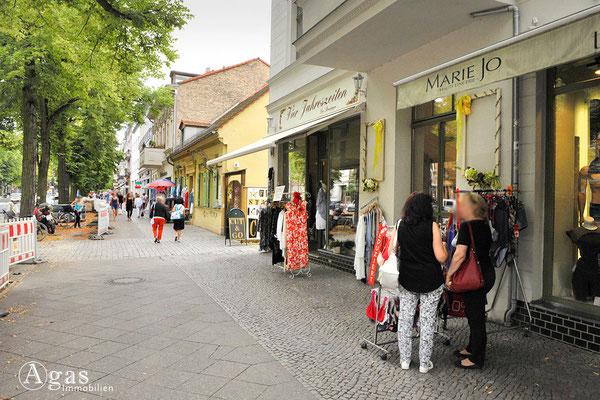 Flanieren und Einkaufen in der Bölschestraße