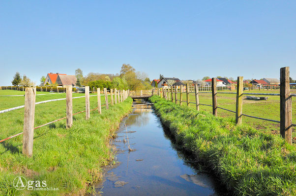 Schönfließ - Feldwassergraben