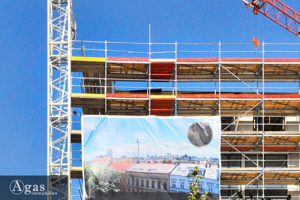 Templiner Park - Baustellenimpression vom Neubau (1)