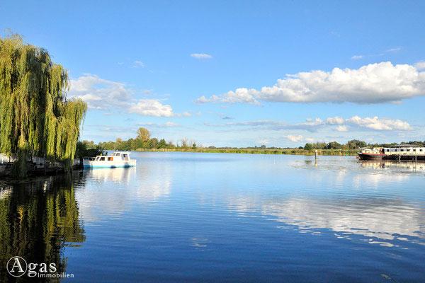 Brandenburg (Havel) - Blick vom Mühlendam auf den Brandenburger Stadtkanal