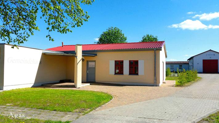 Kraatz, Gemeindehaus