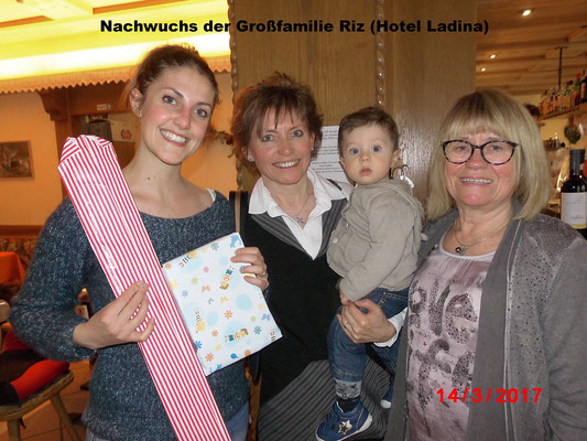 Nachwuchs der Großfamilie Riz (Hotel Ladina)