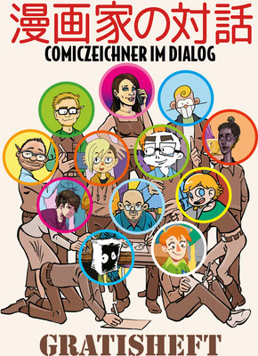 Manga- und Comiczeichner im Dialog - ICOM Verlag