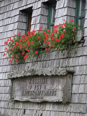 Berghütte Kosseine  5.9.17