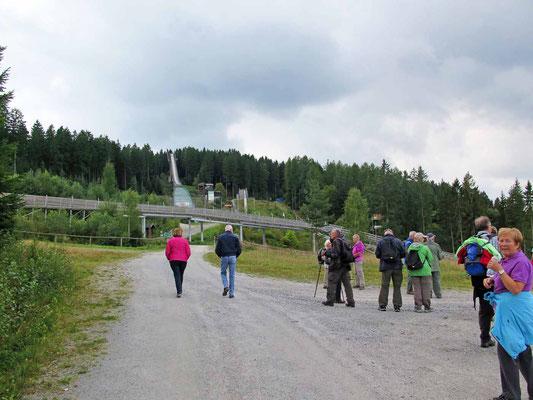 Ochsenkopftour (Skisprung-Schanze) 3.9.17