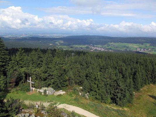 Ochsenkopftour (Blick vom Asenturm) 3.9.17