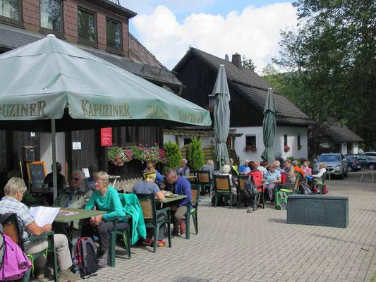 Ochsenkopftour (Gasthof Karches) 3.9.17