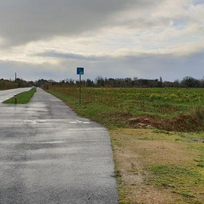 Der Fahrradweg - auf Kosten der Bauern und der Umwelt