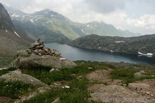 Steinmännchen am Langsee