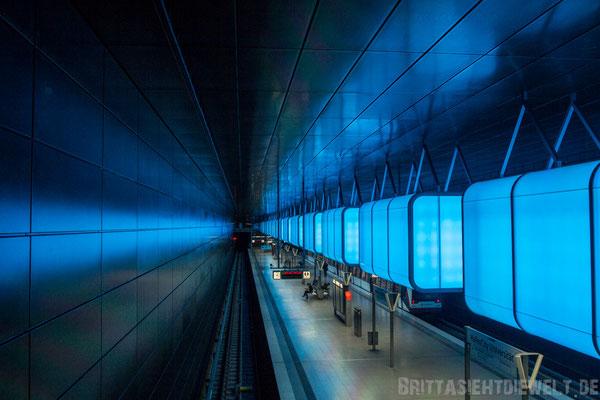 "U4-Station ""HafenCity Universität"""