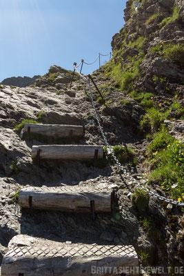 der Weg nach oben