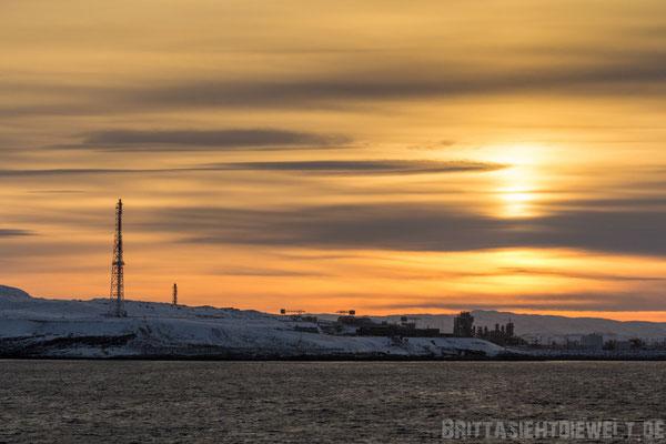 Erdgasverflüssigungsanlage Hammerfest in Sicht