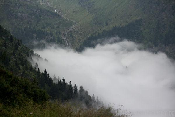 Wolkenmeer im Tal