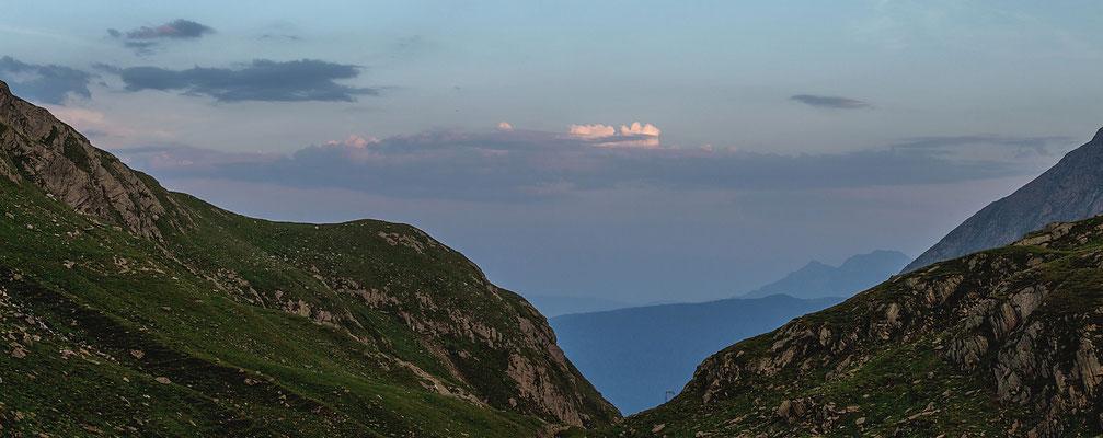 Blaue Stunde an der Lodnerhütte
