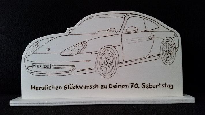 Ein Porsche zum Geburtstag