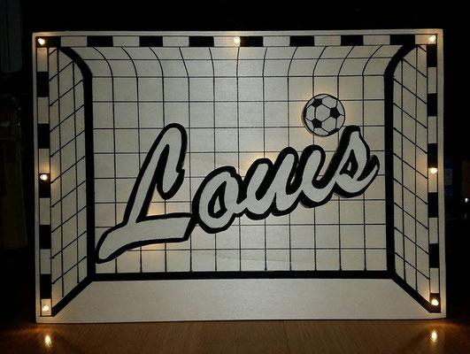 ein Tor für einen Fussballfan