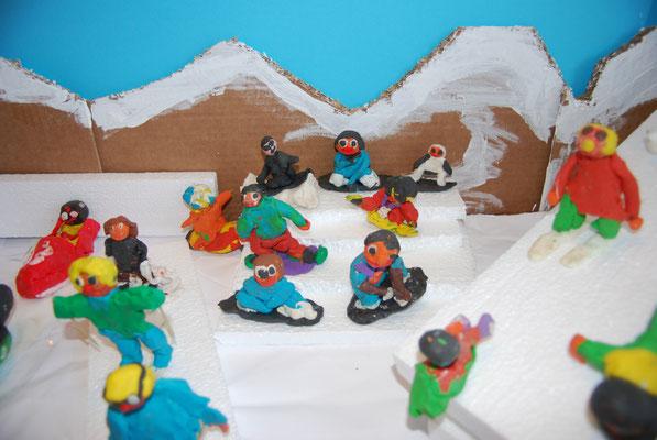 Die Buckelpiste der Snowboarder