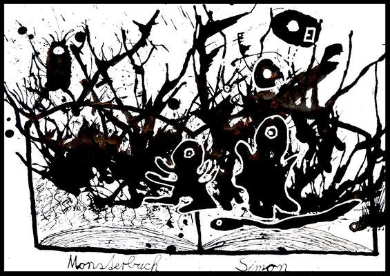 Das Monsterbuch von Simon