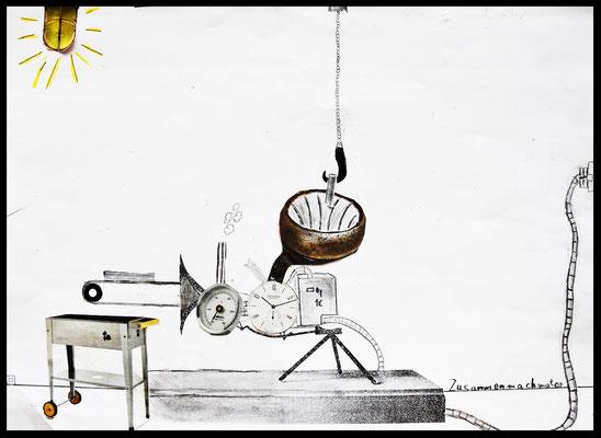 Die Zusammenmachmaschine von Malte