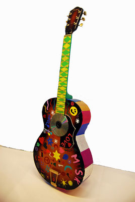 Majken, Vera und Marie: Colour Guitar