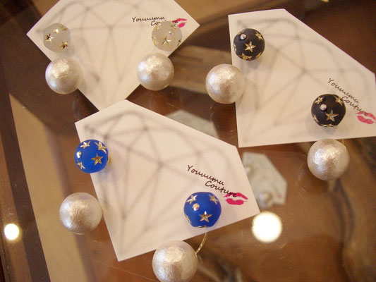 『Backcatch round star pierce』各¥3.200