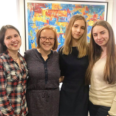Students from Fulbright in Kyiv