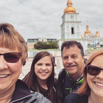 Fawcett Family Selfie.