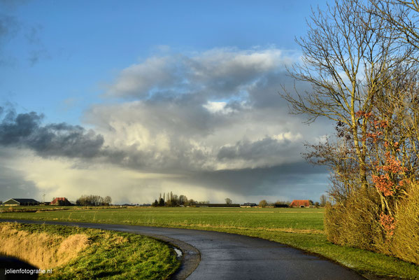 188.Friesland, tussen Sneek en Bolsward