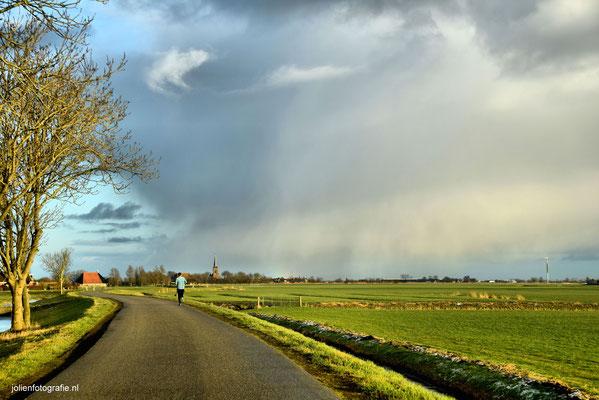 191.Friesland, tussen Sneek en Bolsward