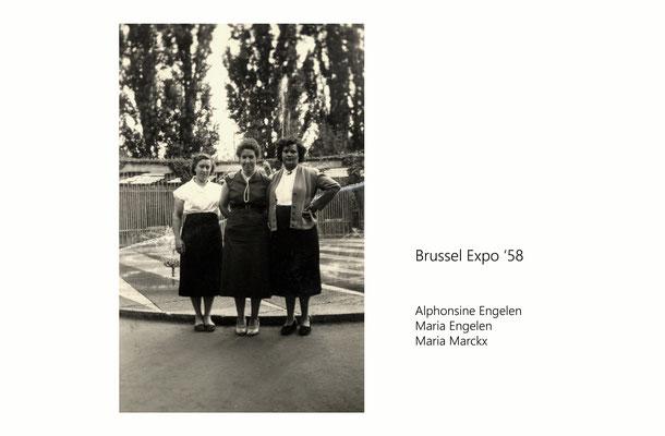 Expo 1958-Alphonsine Engelen/Maria Engelen/Maria Marckx