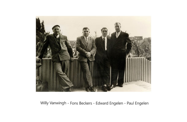 Willy Vanwingh-Fons Beckers-War Engelen-Paul Engelen