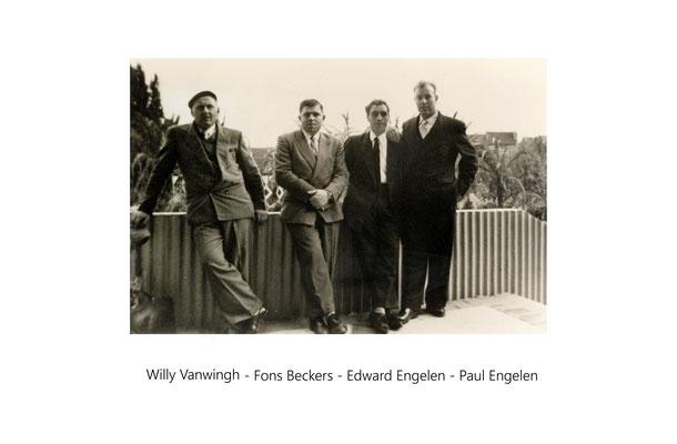 Willy Vanwingh-Fons Beckers-War Engelen-Paul Engelen