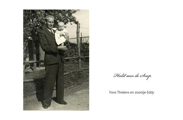 Fons Thielens en zoontje Eddy